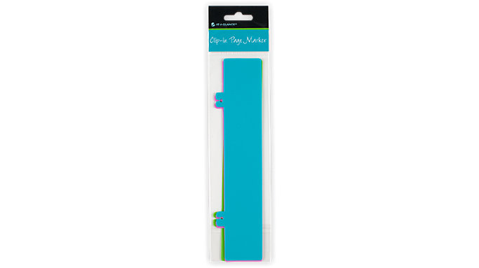 AT-A-GLANCE Clip-in Page Marker-Set of 3  (244-01)