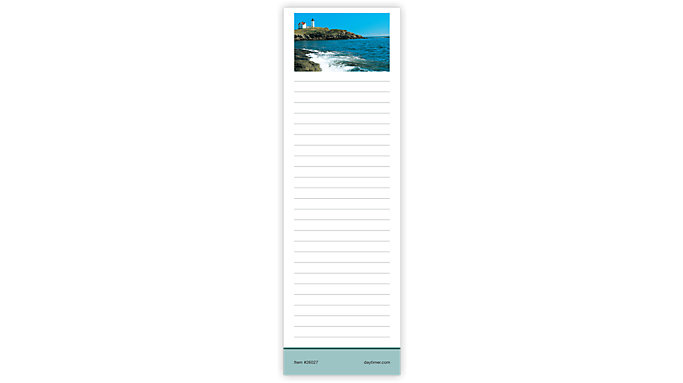 Day-Timer Coastlines Slim Note Pads  (26027)