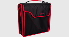 3 inch Sewn Zipper Binder & Removable Padded Case (Item # 29296)