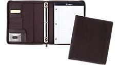 1 inch Zipper Binder with Notepad (Item # 29450)