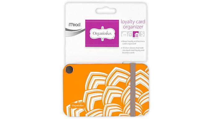 Mead Organizher Loyalty Card Organizer  (33129)