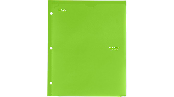 Five Star Customizable Folder  (33452)