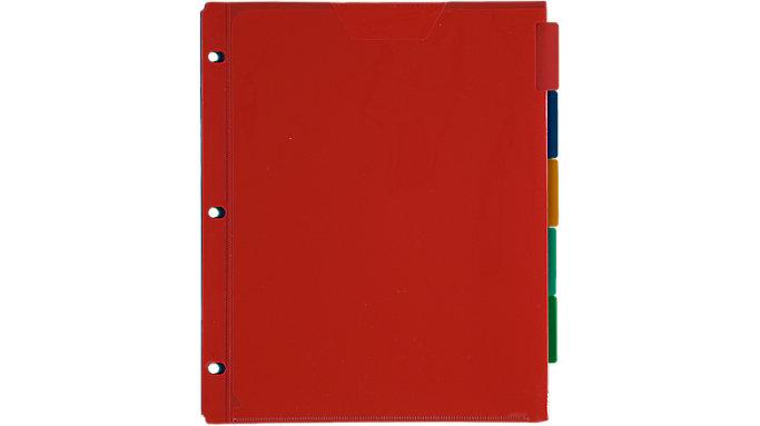 Five Star Flex Divider NoteProtector 5 Pack  (34006)
