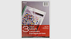 Clear View Folders-3 pack (Item # 34816)