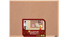 Cork Bulletin Board with Oak Finish Frame (Item # 35-380343Q)