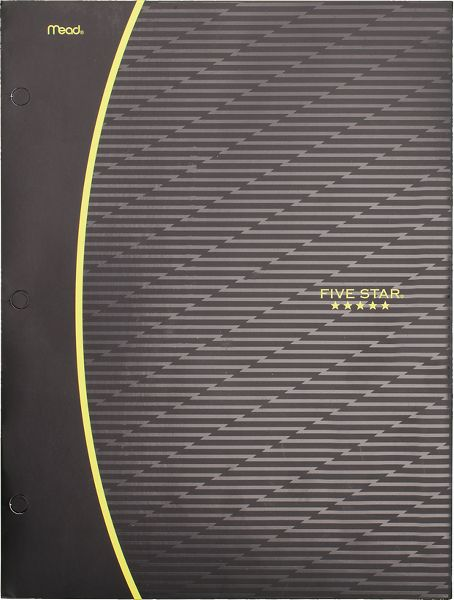 Graphics 4-Pocket Paper Folder, 35142C By Five Star
