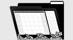 Irony Budget File Folders (Item # 35731)
