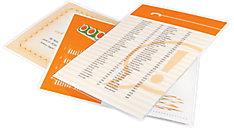 HeatSeal Pouches Letter Size 3 Mil 100 pcs (Item # 3745022)