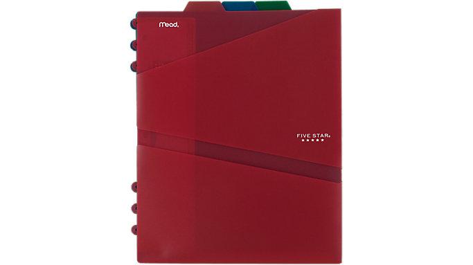 Five Star Top Tabbed 2-Pocket Folder Dividers 3 pack  (81210)