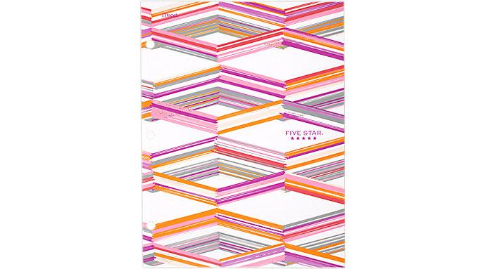 Five Star Style 4-Pocket Paper Folder  (33222C)