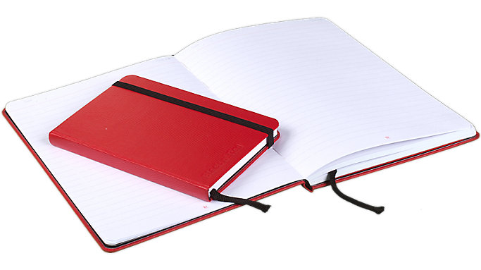 Black n' Red  Ruled Business Journal  (400065004)