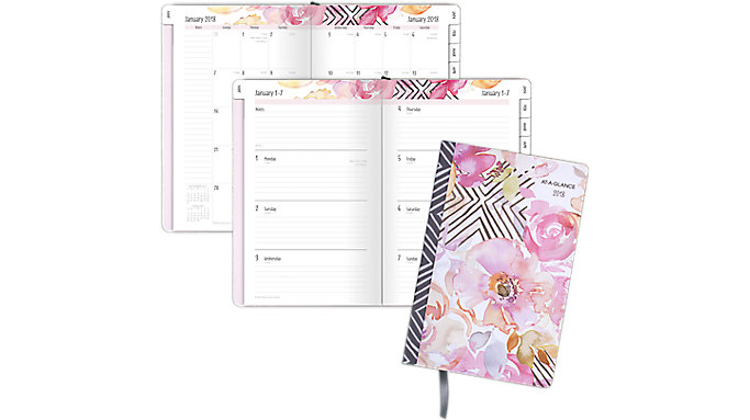 AT-A-GLANCE Kathy Davis Weekly-Monthly Planner  (4035-200)