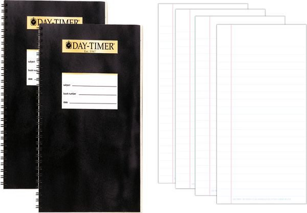 Day-Timer Planner Set Accessory Pack Pocket Size - Memo Book-Notepad