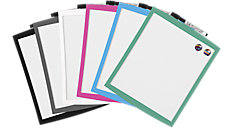Magnetic Dry Erase Board with Curved Frame (Item # 43085)