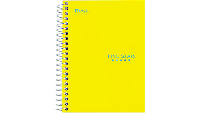 Five Star Personal Wirebound College Ruled Notebook  (45484)