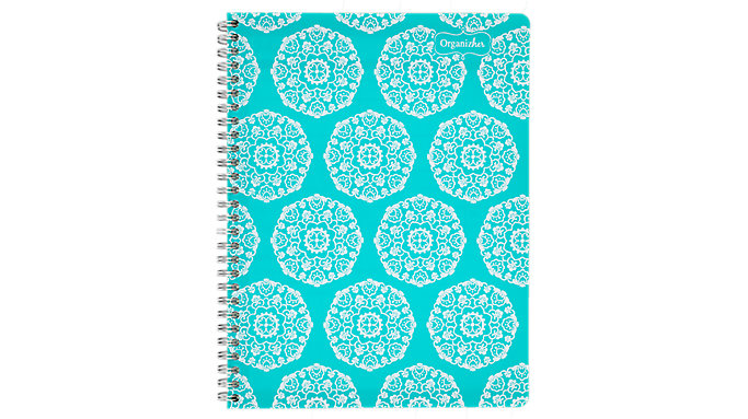 Mead Organizher Undated Monthly Planner with Notes  (47012)