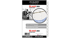 Vertical Weekly Planner Refill Size 4 (Item # 481-485)