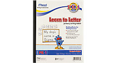 Learn To Letter Primary Writing Tablet Grades PK-1 (Item # 48166)