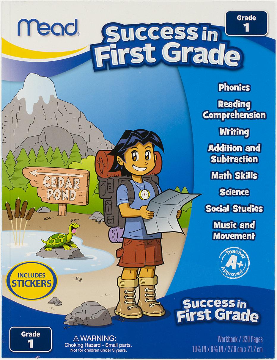 First Grade Comprehensive Workbook   48200   Mead