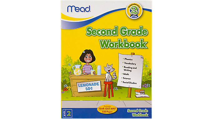 Mead Second Grade Comprehensive Workbook  (48220)