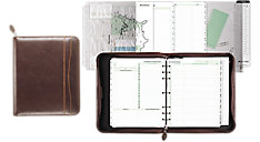 Sienna Simulated Leather Planner Starter Set Folio Size (Item # 4843201A)