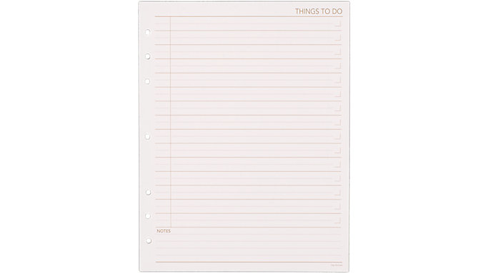 Day Runner Things To Do Planner Refill Size 5  (490-232)