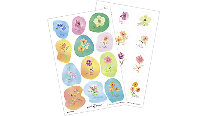 Day-Timer Kathy Davis Sticker Sheets  (50002)