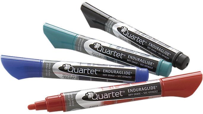 Quartet EnduraGlide Dry Erase Markers Bullet Tip  (5001-1MA)