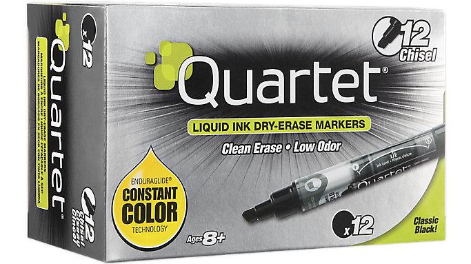 Quartet EnduraGlide Dry Erase Markers Chisel Tip  (5001-2MA)