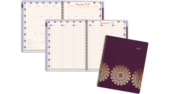 AT-A-GLANCE Sun Dance Weekly-Monthly Appointment Book  (5051-905)