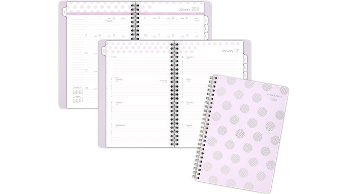 AT-A-GLANCE Dot Weekly-Monthly Appointment Book  (5059-200)