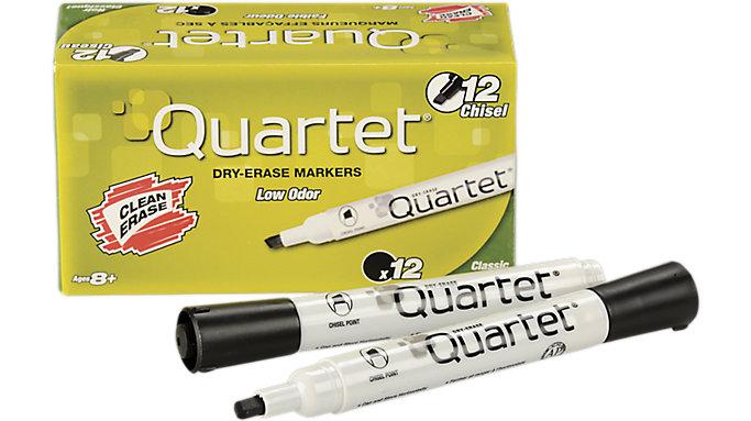 Quartet Low Odor Dry Erase Marker Chisel Tip  (51-002692)