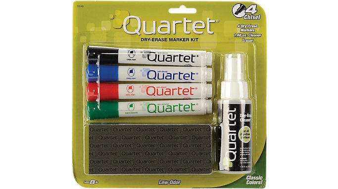 Quartet Dry Erase Marker Accessory Kit Broad Tip  (51-659672QA)