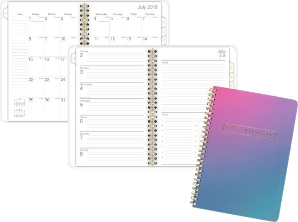 At-A-Glance Ariel Premium Academic Weekly-Monthly Planner - Student Planners
