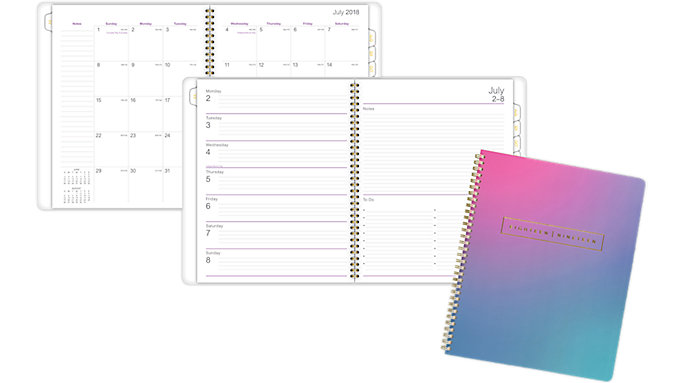 AT-A-GLANCE Ariel Premium Academic Weekly-Monthly Planner  (5107-905A)