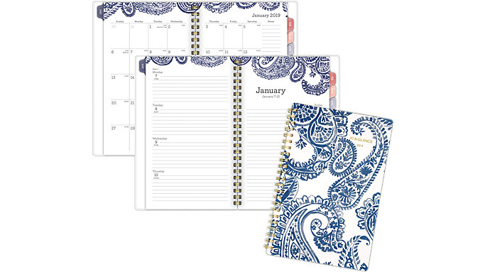 AT-A-GLANCE Paige Weekly-Monthly Planner  (5141-200)