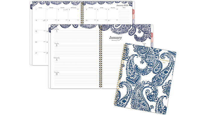 AT-A-GLANCE Paige Weekly-Monthly Planner  (5141-905)