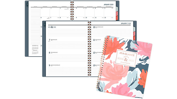 AT-A-GLANCE BADGE Weekly-Monthly Planner  (5148-805)