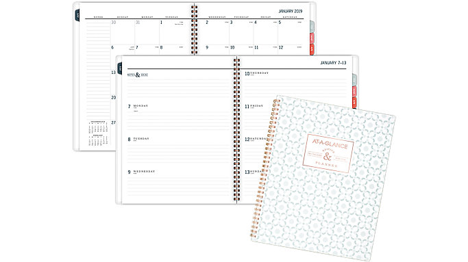 AT-A-GLANCE BADGE Weekly-Monthly Planner  (5148-905)