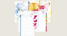Kathy Davis 2-Page-Per-Day Planner Refill Desk Size (Item # 52112)