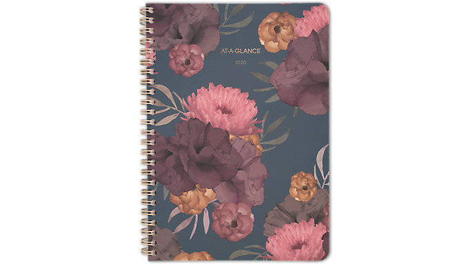 AT-A-GLANCE Dark Romance Weekly-Monthly Medium Planner  (5254-200)