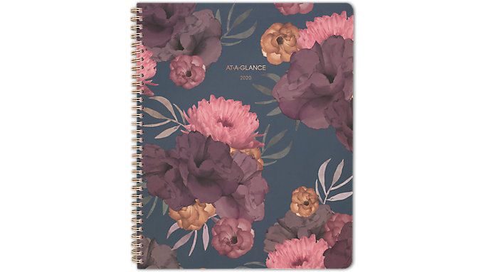 AT-A-GLANCE Dark Romance Weekly-Monthly Large Planner  (5254-905)