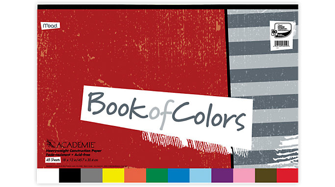 Mead Academie Book Of Colors  (53052)