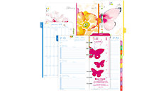 Kathy Davis 2-Page-Per-Week Planner Refill Portable Size (Item # 53122)