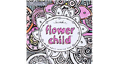 Academie Flower Child Adult Coloring Book (Item # 54008)