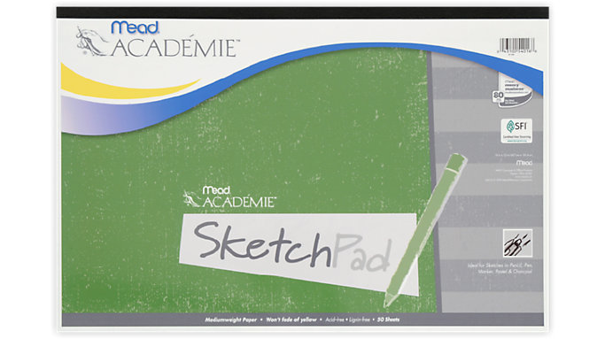 Mead Academie Sketch Pad  (54016)