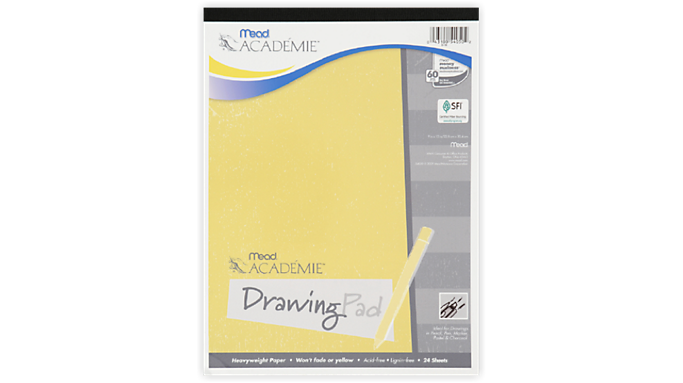 Mead Academie Drawing Pad - Art Supplies