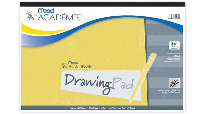 Mead Academie Drawing Pad  (54060)