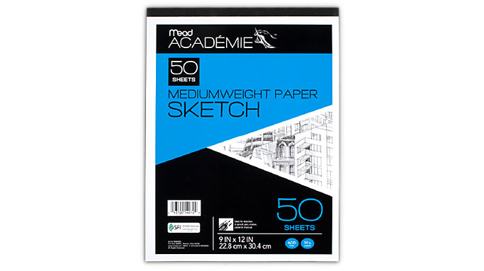 Mead Academie Sketch pad  (54072)