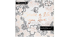 Academie Kathy Davis Create a Life You Love Adult Coloring Book (Item # 54178)
